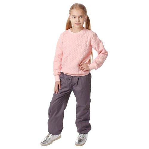 Брюки V-Baby 56-051 размер 116, серыйПолукомбинезоны и брюки<br>