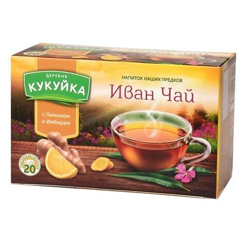 Чай травяной Деревня Кукуйка Иван-чай в пакетиках, 20 шт.Чай<br>