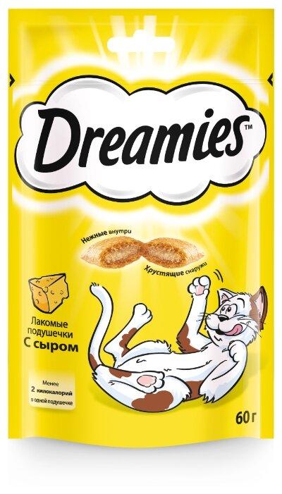 Лакомство для кошек Dreamies Подушечки с сыром
