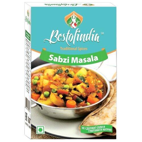 Bestofindia Смесь специй для овощей Sabzi Masala, 100 г