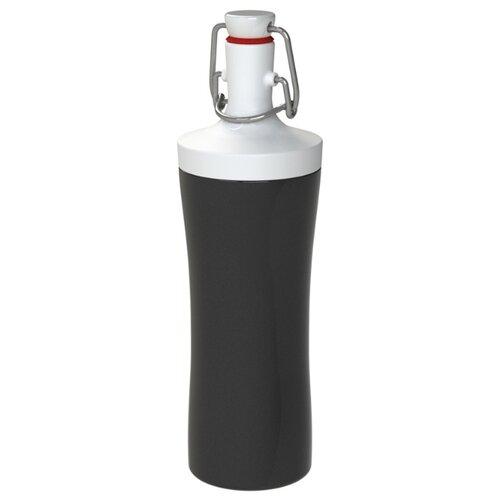 Фото - Бутылка для воды Koziol Plopp to go 0.42 пластик черный бутылка для воды koziol plopp to go organic 0 42 пластик синий