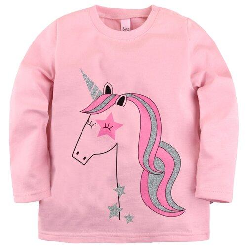 Лонгслив Bossa Nova размер 92, розовыйФутболки и рубашки<br>