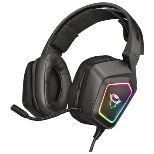 Компьютерная гарнитура Trust GXT 450 Blizz RGB 7.1 Surround Gaming Headset черный компьютерная акустика trust