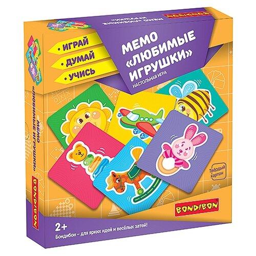 Настольная игра BONDIBON Мемо Любимые игрушки ВВ3910