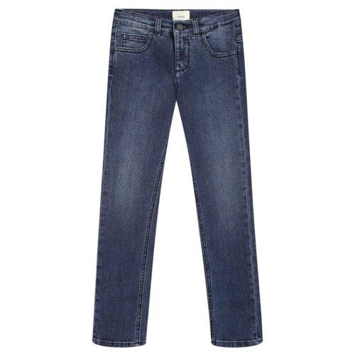 Джинсы FENDI размер 110, синий джинсы женские zarina цвет синий 8123414717103 размер 46