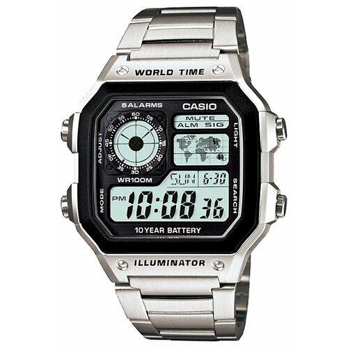 Фото - Наручные часы CASIO AE-1200WHD-1A ae 2000w 1a