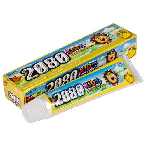 Зубная паста Dental Clinic 2080 Kids Banana 2+, 80 г зубная паста dental clinic 2080 kids apple 2 80 г
