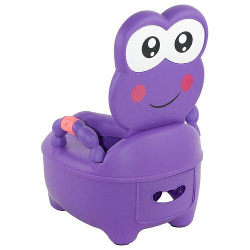 Pituso горшок Лягушонок фиолетовый pituso горшок львенок голубой