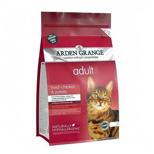 Сухой корм для кошек Arden Grange беззерновой, с курицей 8 кг