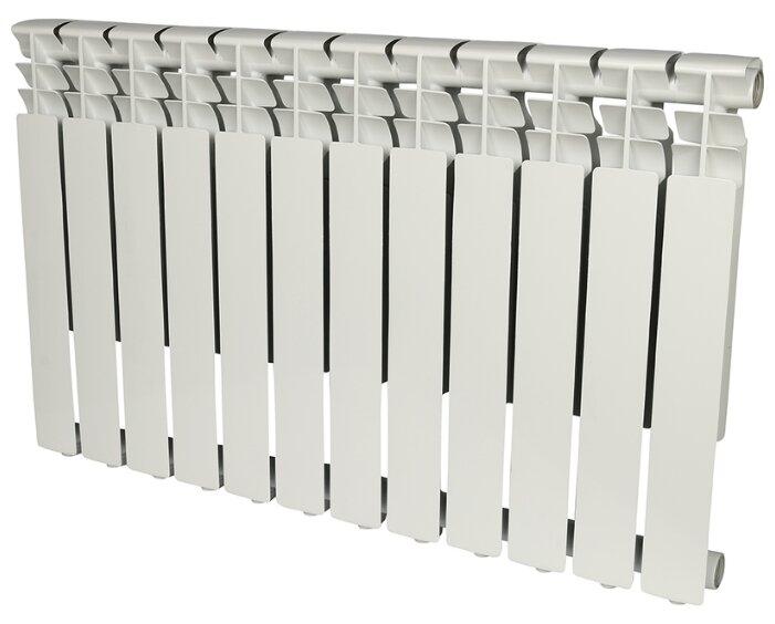 Радиатор секционный алюминий ROMMER Al Optima 500