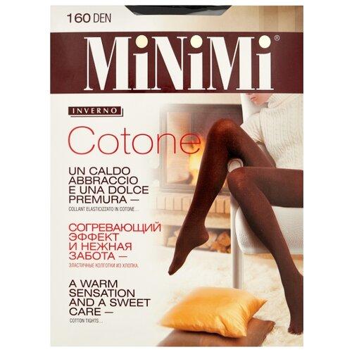 Колготки MiNiMi Cotone 160 den, размер 4-L, nero (черный) колготки minimi cotone 250 den размер 4 l nero черный