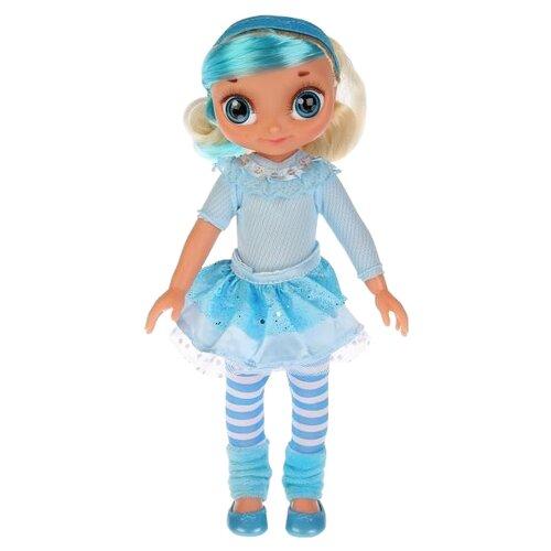 Интерактивная кукла Карапуз Сказочный патруль Снежка с набором для волос, 33 см, SP0117-S-RU-BTY
