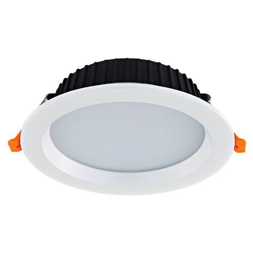 Встраиваемый светильник Donolux Ritm DL18891/24W White R Dim встраиваемый светодиодный светильник donolux dl18731 7w white r dim