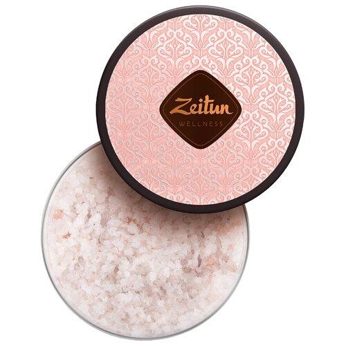 Zeitun Соль для ванн Ритуал нежности с дамасской розой и маслом персика 250 мл