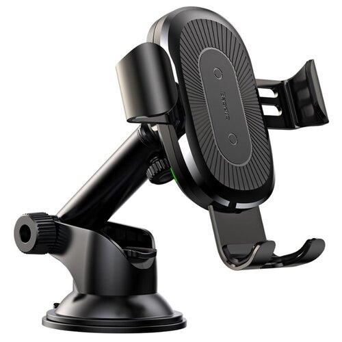 Купить Держатель с беспроводной зарядкой Baseus Wireless Charger Gravity Car Mount 2 (WXYL-A01) черный