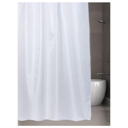 Штора для ванной Bath Plus Hilton TL 180х200 белый штора для ванной joyarty с любовью от котика 180х200 sc 91956