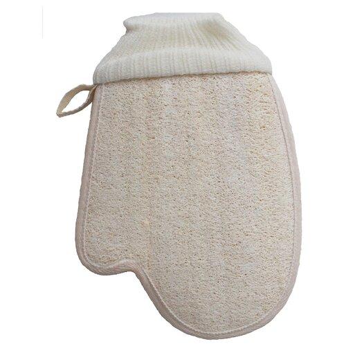 Мочалка Ape Bathing SPA (11BTMA121) бежевый/белый