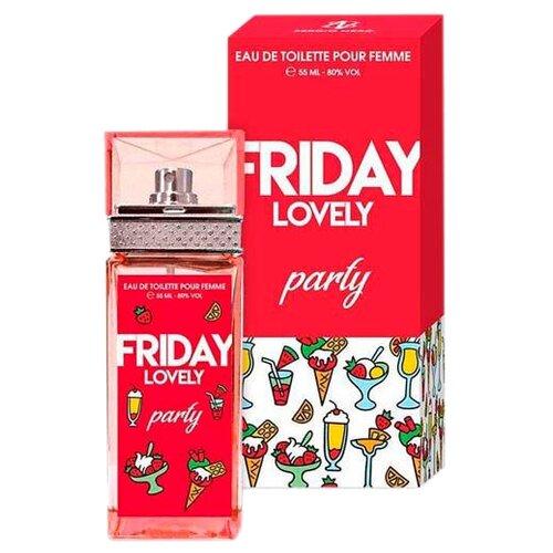 Купить Туалетная вода Sergio Nero Friday Lovely Party, 55 мл