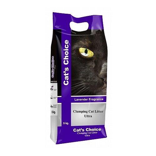 Комкующийся наполнитель Indian Cat Litter Cat's Choice Lavender 5 кг
