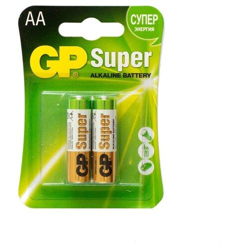 Батарейка GP Super Alkaline AA 2 шт блистер цена 2017