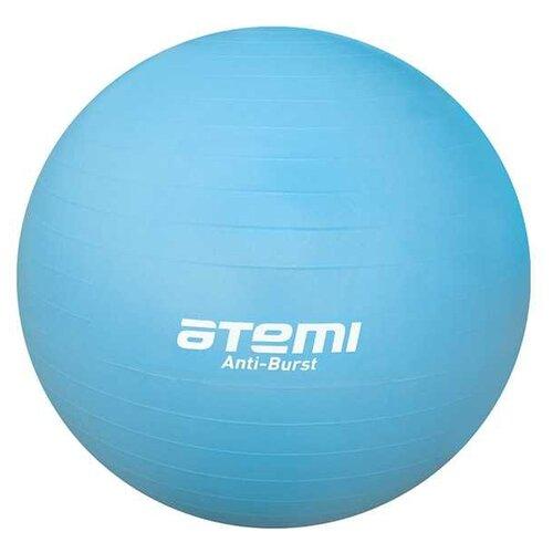Фитбол ATEMI AGB-04-65, 65 см голубой фитбол indigo in001 65 см