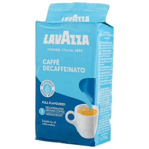 Кофе молотый Lavazza Caffe Decaffeinato вакуумная упаковка 250 гМолотый кофе<br>