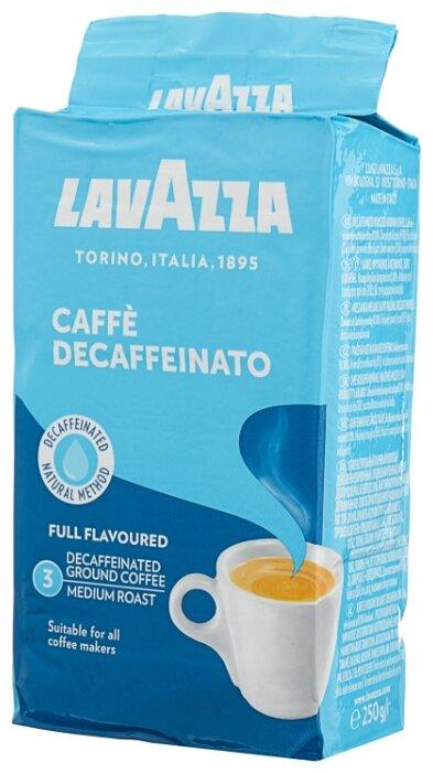 Lavazza Кофе молотый Caffe Decaffeinato 250 грамм