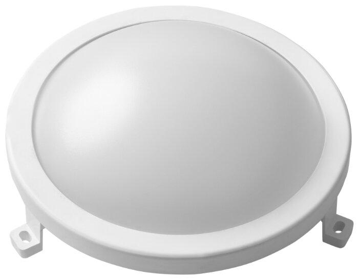 Светильник сд Round IP65, круглый, 8W, 4000К, влагозащита, REV