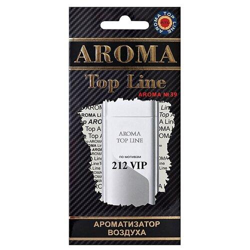 AROMA TOP LINE Ароматизатор для автомобиля Aroma №39 Carolina Herrera 212 VIP 14 г