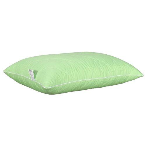 Подушка АльВиТек Микрофибра-Бамбук (ПМБ-070) 70 х 70 см зеленый наматрасник односпальный альвитек бамбук микрофибра 120 200 см