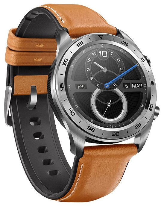 Honor Часы Honor Watch Magic (leather strap)