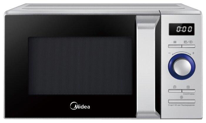 Микроволновая печь Midea AM820NN1-S — купить по выгодной цене на Яндекс.Маркете