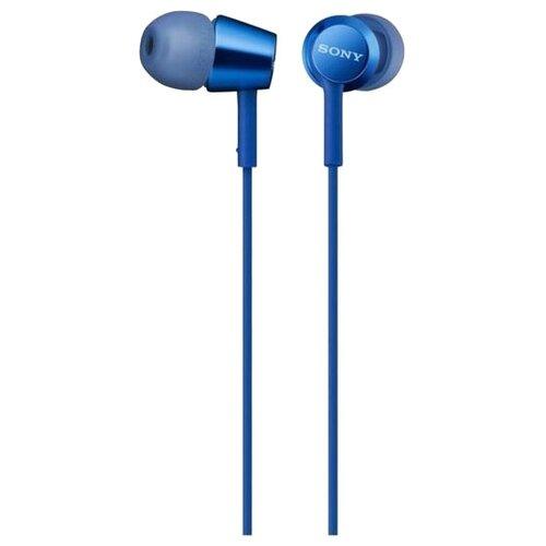 Фото - Наушники Sony MDR-EX155AP, blue наушники sony mdr ex155ap ligth blue