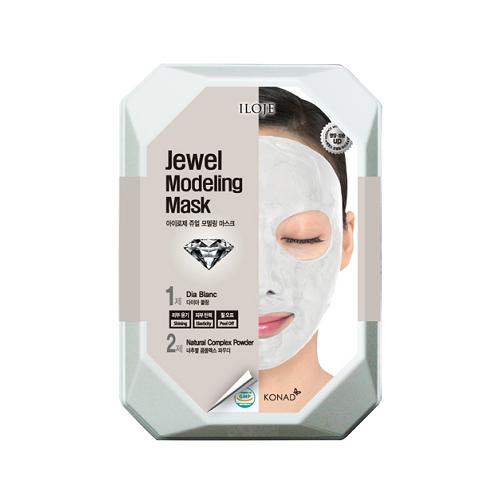 Купить Konad Моделирующая альгинатная маска с алмазной пудрой для яркой сияющей кожи Iloje Jewel Modeling Mask, 55 г
