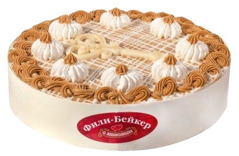 Торт Любимый ключик Фили-Бейкер бисквитный, 1 кг