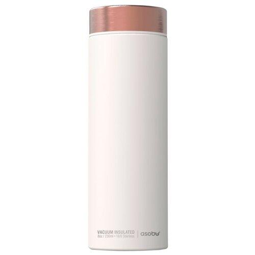 Фото - Классический термос asobu Le baton travel (0,5 л) белый/медный термобутылка asobu central park travel bottle 0 51 л медный серебристый