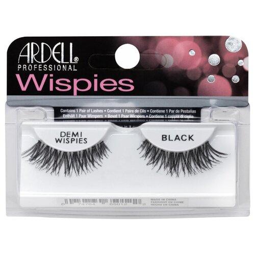 Ardell накладные ресницы Demi Wispies InvisiBand Lashes черный недорого