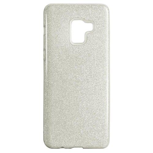 Чехол Akami Shine для Samsung Galaxy A8 Plus серебристыйЧехлы<br>
