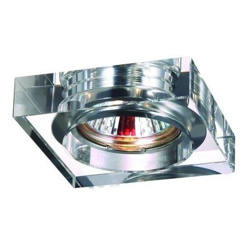 Встраиваемый светильник Novotech Glass 369482 точечный светильник novotech 369482