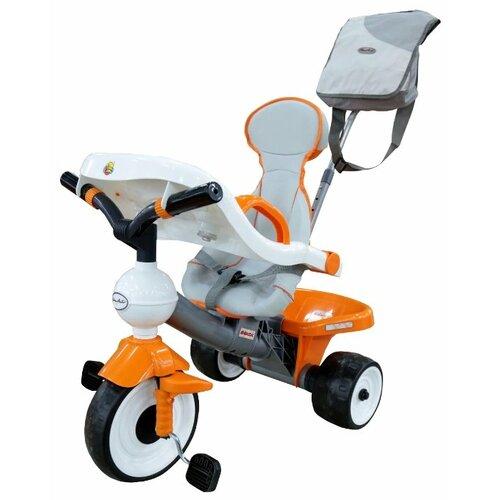 Купить Трехколесный велосипед Coloma Y Pastor Дидактик 2 46581 серый/оранжевый/белый, Трехколесные велосипеды