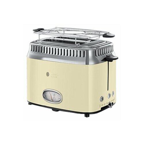 Тостер Russell Hobbs 21682-56 Retro, бежевый тостер russell hobbs 21395 56