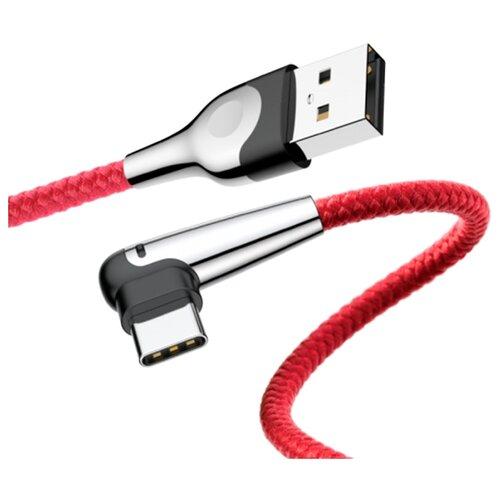 Кабель Baseus MVP Mobile Game USB - USB Type-C 2 м красный