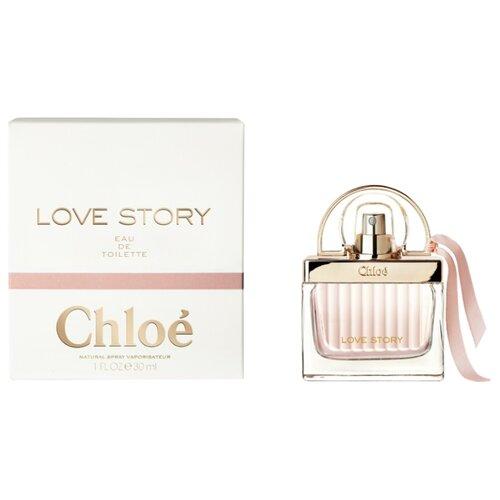 Туалетная вода Chloe Love Story , 30 мл туалетная вода chloe love story 75 мл