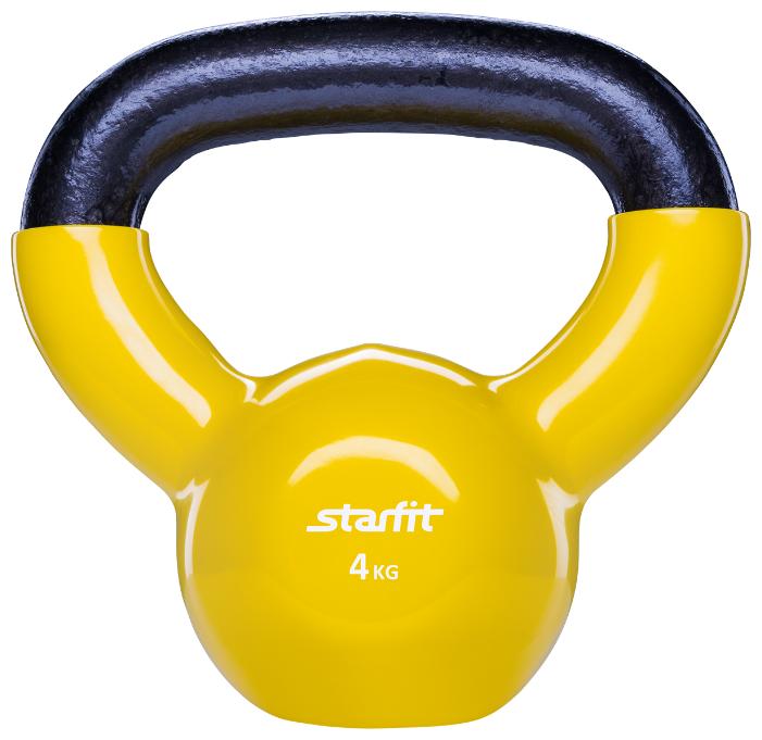 Гиря цельнолитая Starfit DB-401 4 кг