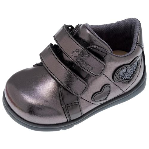 Ботинки Chicco размер 22, серебристый ботинки chicco размер 21 синий