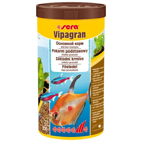 Сухой корм для рыб Sera Vipagran основной в гранулах 300 г