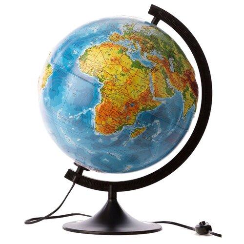 Глобус физико-политический Globen Классик 320 мм (К013200223) черный