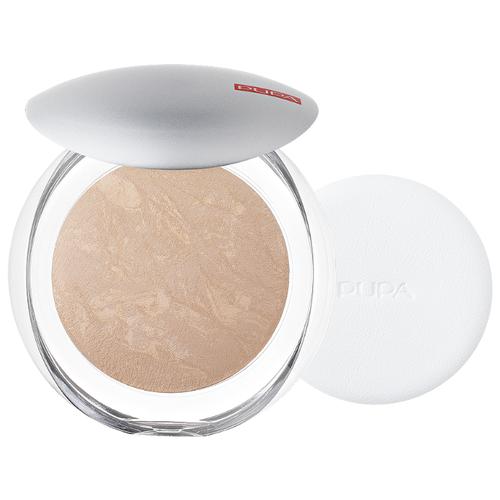 цена на Pupa Luminys пудра компактная запеченная Silky Baked Face Powder 05 amberlight