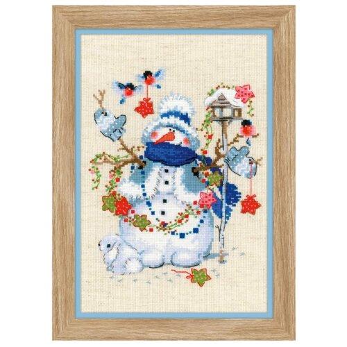 Купить Риолис Набор для вышивания крестом Сочельник 21 х 30 (1757), Наборы для вышивания