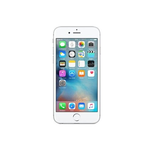 Смартфон Apple iPhone 6S 128GB серебристый (MKQU2RU/A)